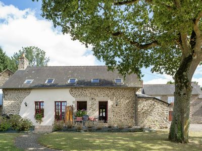 Photo for House with terrace and garden 1/2h from Mont Saint-Michel.