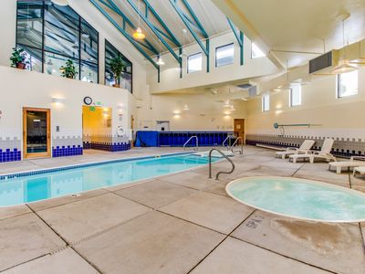 Photo for NEW LISTING! Family-friendly condo with shared pool, hot tub, game room