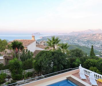 Photo for Villa with spectacular views and private pool / wifi
