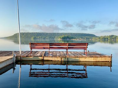 Photo for Dog Friendly - Cozy, Door County, WI Retreat - Feet From the Water's Edge ↟↟↟