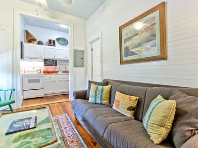 Photo for Newly Renovated and Furnished Historic Tybee Apartment Only Steps to Beach