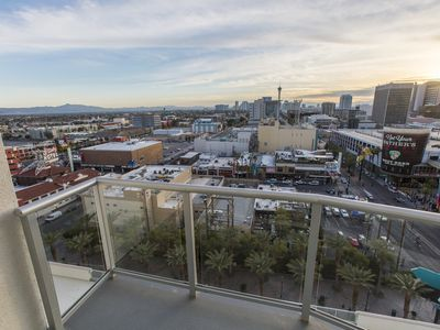 Photo for Stunning 2 BR, 2 BA condo in the heart of Downtown Las Vegas!