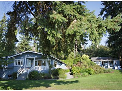 Bainbridge Island Cottage Al Option To Both The Beach House For