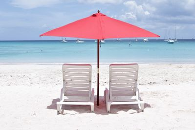 Discounted Chair and Umbrellas rentals at discounted prices for our guests.