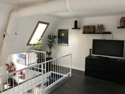 Photo for Cabbagetown 2 Floor Loft Apartment. Numerous amenities nearby.