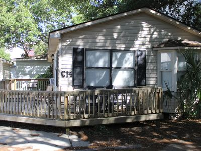 Photo for Great Location! Cute & Cozy 2 BR/ 2 Bath 1 St from the beach. . Departure clean