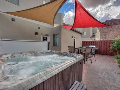 Photo for DW7 Spacious Cowboy-Themed Condo near Arches National Park With Hot Tub!