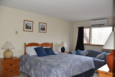 2nd floor Master suite - Brand new Cal King size bed. New A/C-heat unit