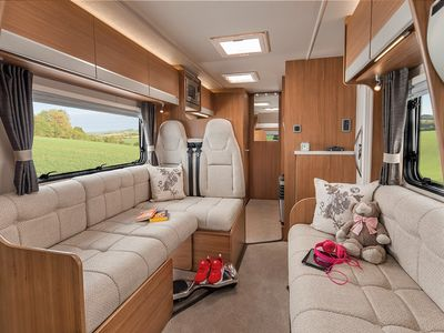 Photo for Premium motorhome hire. UK and EU travel. Go where you want when you want to!