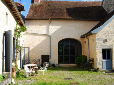 Photo for Beautiful 16th century residence with spa and cinema in the heart of Châtillonnais