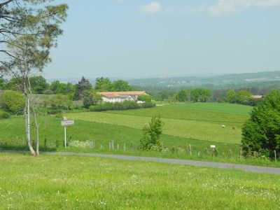 View of the property as you approach the village