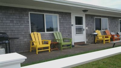 Photo for North Truro Condo: Ocean Views, Private Beach, Towels, Bedding & Linens Provided