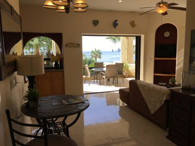 Photo for One Bedroom Condo on the Beach,  Wi-Fi, Arch View, BBQ, Dish TV!