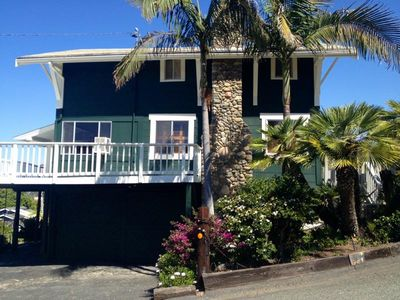 Photo for Walk to Beach from Ocean View Craftsman Beach Cottage in Cardiff Village.