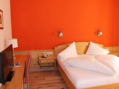 Photo for Classic Double Room, Shower, Toilet - Hotel Försterhof, lebe pur gmbh.