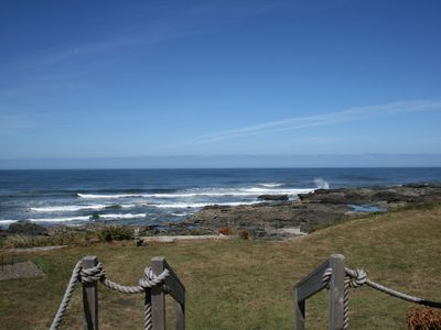 Photo for Oceanfront Splendor at Yachats Sunset, Front Row to Ocean and Tidepools
