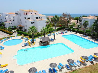 Photo for 3 bedroom Apartment, sleeps 6 in Torralta with Pool and Air Con