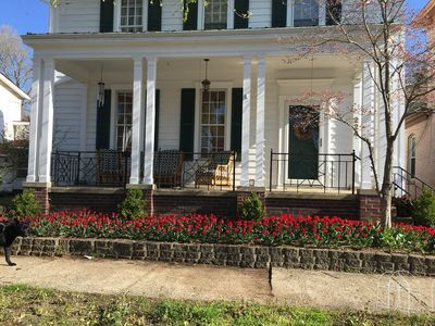 Photo for Hocking Hills getaway in our historic comfy home