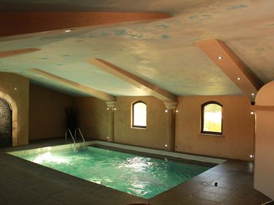 Photo for Beautiful house in an exceptional place - jacuzzi & pool-in Drôme Provençale