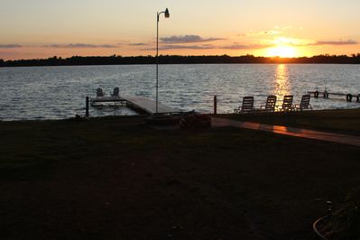 Another beautiful sunset on Maple Lake!