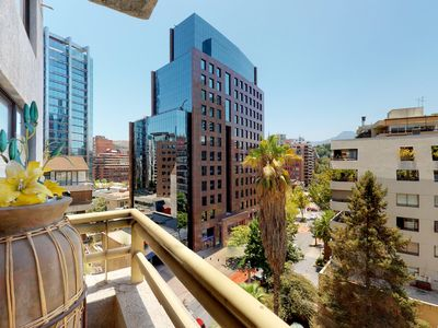 Photo for Beautifully decorated apt. w/city views, great downtown location, & jetted tub