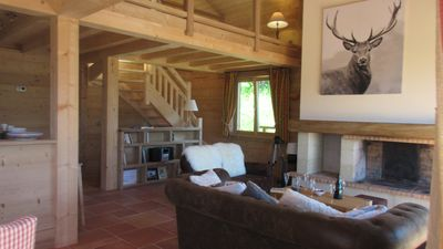 Photo for Charming cottage completely renovated, exceptional view, sauna, fireplace, 4 ****