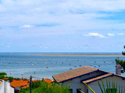 Photo for Charming Villa Cap-Ferret- The Canon with Panoramic View Basin