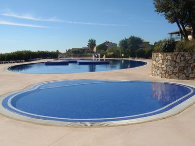 Photo for 2 bedroom apartment with superb sea views and large pool