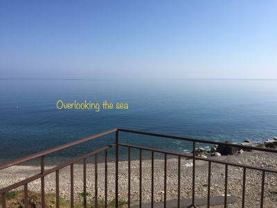 Photo for Apartment in front of the sea in Sicily between Palermo and Messina