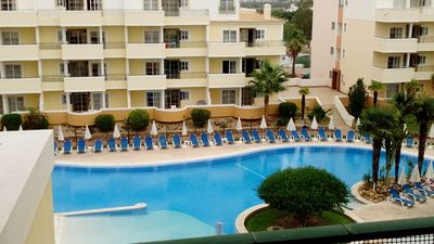 Photo for Vitor`s Plaza Flat with Balcony and Pool View - Apartment for 4 people in Portimão