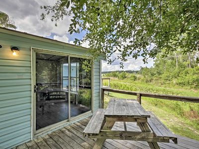 Photo for Charming Silver Springs Cabin w/Lake+Forest Views!