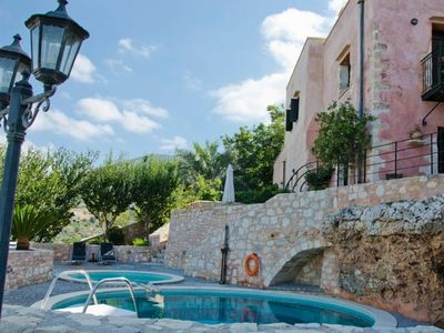 Photo for House in the center of Kastellos with Internet, Pool, Air conditioning, Parking (488716)