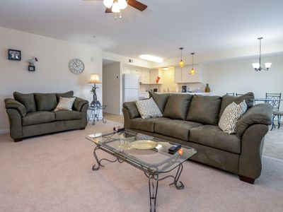 Photo for Updated Condo w/ Bay Views - Near Convention Center & Downtown OCMD!