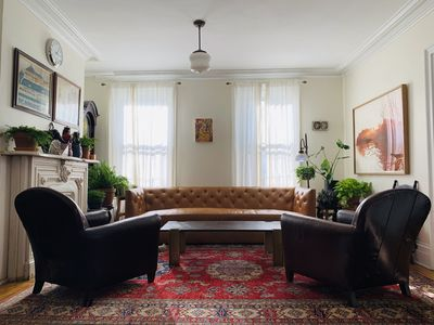 Photo for Historic Five Bedroom Family Home with large Garden in Greenpoint
