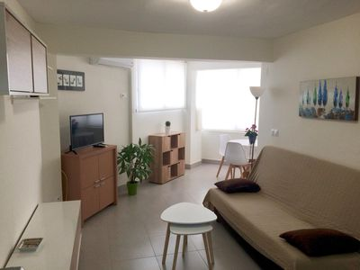 Photo for Bright renovated apartment 5 minutes from the Levante beach