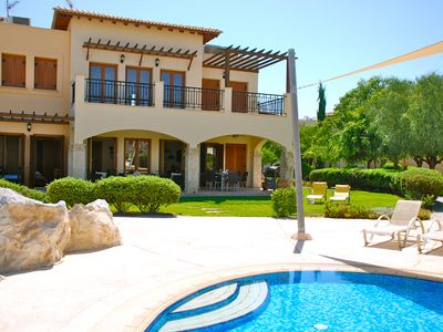 Photo for Apartment Atropos - 3 Bed Apartment Overlooking Pool, Perfect for Young Families