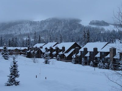 WINTER AT CASCADE VILLAGE
