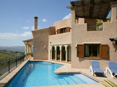Photo for Lovely  Family Villa With Private Pool And Stunning Views.