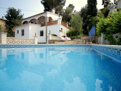 Photo for El Pájaro with great views and privat pool