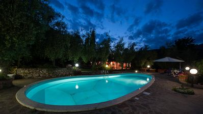 Photo for Pool Villa Exclusive Relax Nature Wifi Rome & Naples 1H Family All Inclusive