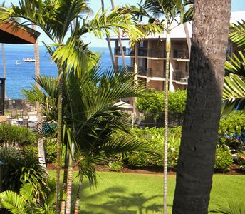 Photo for Kona Makai, ocean front, watch the Dolphins, & boats from the lanai