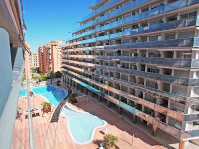 Photo for La Cala de Benidorm Apartment, Sleeps 4 with Pool, Air Con and WiFi