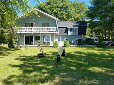 Photo for Sebago Lake Waterfront with Sandy Beach - Sleeps 12