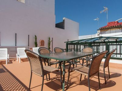 Photo for Casa de Tintes apartment in Santa Cruz – Catedral with WiFi, air conditioning & private roof terrac…