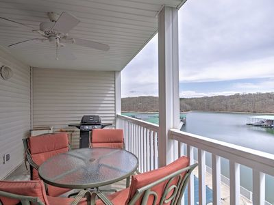 Photo for Lakefront Osage Beach Condo w/ Pools & Water Views