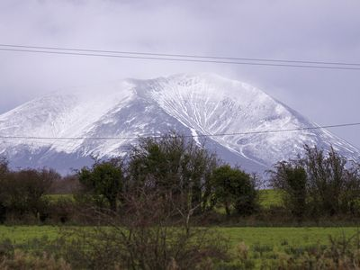 View of Nephin mountain range from the front of the property