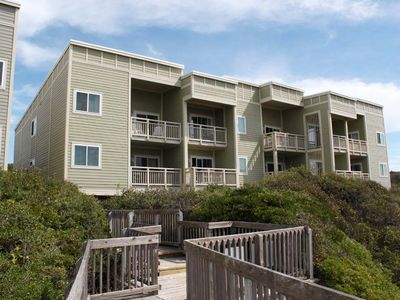 Photo for 1st Beach Front: 2 Bed/2.5 Bath Oceanfront Condo with Community Pool