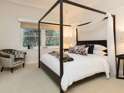 Luxury awaits in the master bedroom with adjoining ensuite