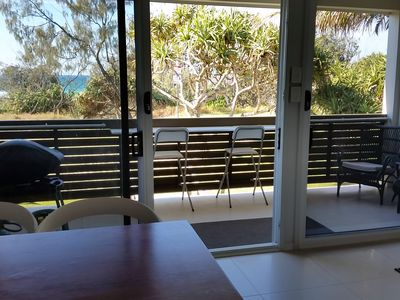 Perched on the beachfront at Cabarita Beach