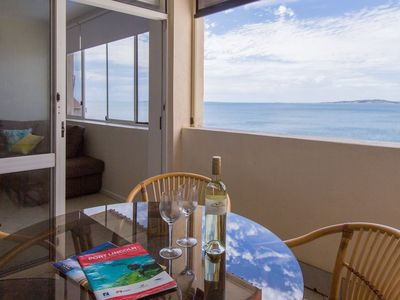 Enjoy the seaview from your personal balcony
